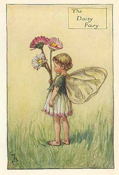 Details about FLOWER FAIRIES 1940's: Harebell Fairy