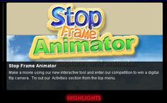 This is an AWESOME site for kids! Film Street's Stop Frame Animator lets students create stop animation films for free. No registration is required to use this cool tool. It is easy to use and the end results are great.