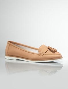 Talbots - Maxa Nubuck Tassel Loafers | Shoes | Medium