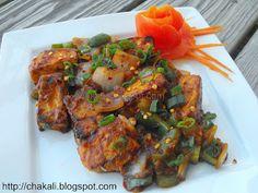 chilli garlic tofu