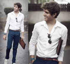 The white shirt - street-style
