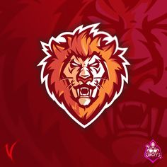 """New Mascot for sale! Pet Logo, Logo E Sports, Monogram Logo, Shoe Advertising, Soccer Photography, Logo Desing, Bee Embroidery, Lion Logo, Branding"