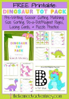Kids Dinosaur Activities - Dinosaur Unit Ideas