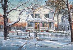 Homecoming - Limited Edition Art Print - William Mangum Fine Art