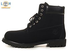 Womens 6 Inch Timberland Waterproof Boots Black-#113