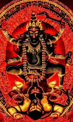 Indian Goddess Kali, Goddess Art, Durga Goddess, Indian Gods, Indian Art, Mahakal Shiva, Shiva Art, Hindu Art, Mother Kali