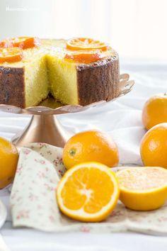 Pastel de naranja y almendra                                                                                                                                                                                 Más