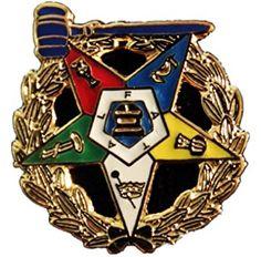 Order Eastern Star Past Worthy Matron DELUXE Lapel Pin Masonic Symbols, Eastern Star, Freemasonry, Daughter Of God, Blessings, Past, Prayers, Goals, Tennis