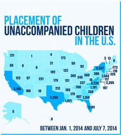 Here Are The States Where Thousands Of Unaccompanied Minors Have Been Released