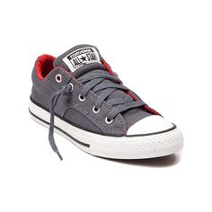 Shop for Youth Converse All Star Chase Slip in Gray Multi at Journeys Kidz.