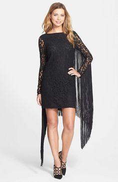MICHAEL Michael Kors Fringe Lace Sheath Dress  $225.00 $101.25