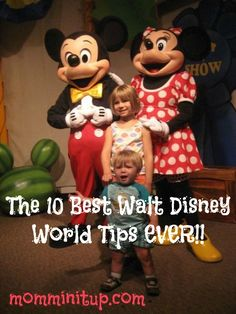 The 10 Best Disney Tips EVER! I will be planning a big disney trip in the next year or two and this list is great!