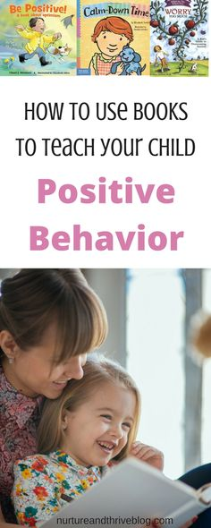Great tips on how to use books to help children learn to regulate emotions and behaviors! Positive book series recommendations for ages 2 through 13 from Ashley Soderlund Ph.D. via @nthrive