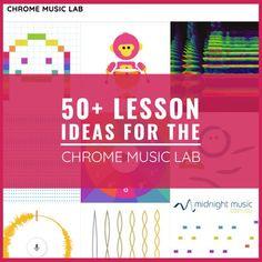 50+ Lesson Ideas for The Chrome Music Lab