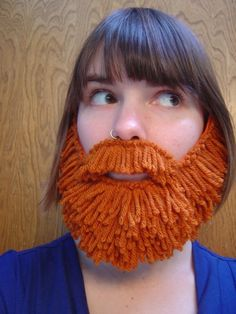 I think I need to make some of these beards for props in our bible skits!!! Too fun!
