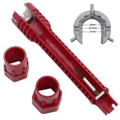 Faucet And Sink Installer Tool Multifunctional Faucet Wrench Pipe Tools
