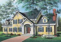 Plan de maison no. W2621 de dessinsdrummond.com