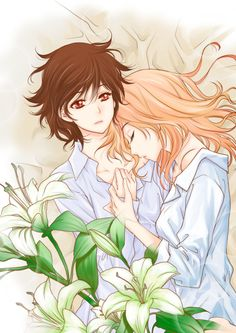 Online manga reader for scanlations released by Dynasty Scans and other Yuri groups. Manga Yuri, Yuri Anime, Manga Anime, Anime Art, Manhwa, Shoujo Ai, Tan Jiu, Couple Sketch, Never Fall In Love