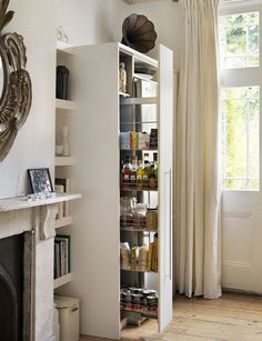 Bespoke pull-out storage from Roundhouse