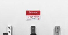 Perchero en Inglés = Coat Rack in Spanish