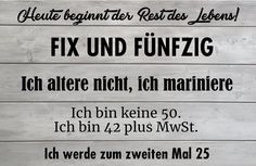 Die lustigsten Sprüche und Zitate zum Geburtstag – Individuelle Einladung Best Picture For diy anniversary gifts For Your Taste You are looking for something, and it is going to tell you exactly w Wedding Quotes, Wedding Humor, Custom Invitations, Wedding Invitations, 50th Birthday, Funny Photos, About Me Blog, Told You So, Sayings