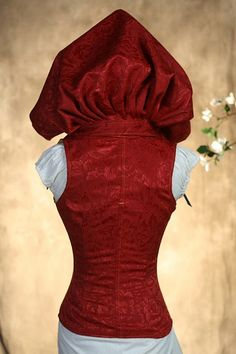 Damsel in this Dress Corset I love this corset!! The hood is awesome