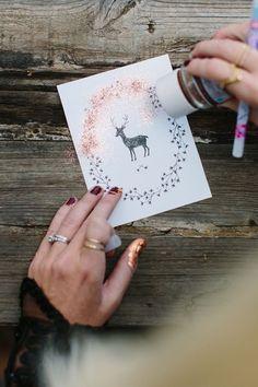 Handmade greeting card by Kelli Murray
