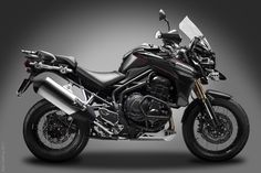 Triumph Tiger Explorer 1200 on Behance