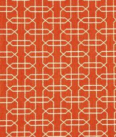 Robert Allen Ardmore Persimmon Fabric - $66.6 | onlinefabricstore.net