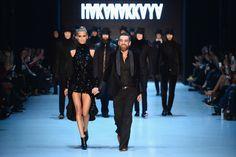 Hakan Akkaya - Mercedes Benz Fashion Week Istanbul - October 2014 #mbfwi