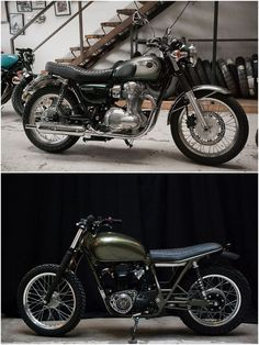 W800 before and after WM
