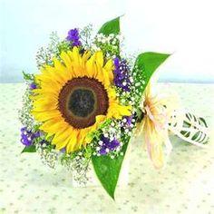 Image detail for -Sunflowers, Sun Flower - Flower Bouquet, Hand Bouquets, Rose Bouquet