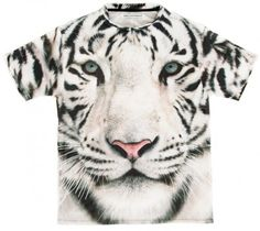 White tiger t Winter Colors, Print Design, Colours, Cold, Summer 2015, My Style, Composition, Barcelona, Animals