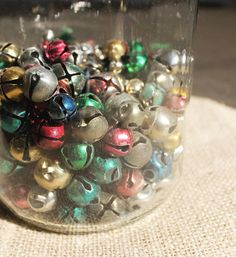 colored jingle bells -- I remember these from my childhood