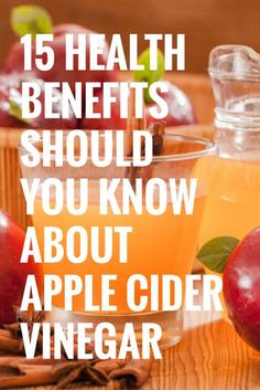 15 Health benefits you should you know about apple cider vinegar #dietplanstoloseweightforwomen