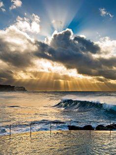 Stood in this exact spot. So ready to go back! Bronte Beach - Sydney - Australia