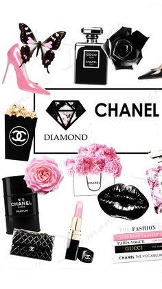 Parfum Paris, Parfum Chanel, Yves Saint Laurent Paris, Coco Chanel Quotes, Chanel Art, Girly Images, Alphabet Coloring Pages, Fashion Wallpaper, Floral Logo