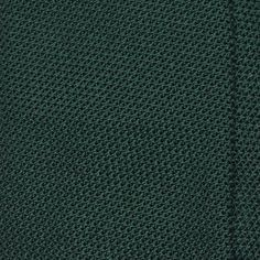 "Handrolled Grenadine ""Garza Fina"" Silk Tie - Bottle Green"