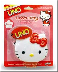 Perfect for a party Sanrio Hello Kitty, Hello Kitty Games, Chat Hello Kitty, Uno Card Game, Card Games, Flowers Delivered, Party Planning, Cards, Fun