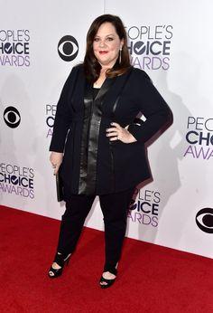 Pin for Later: Es muss nicht immer ein Kleid sein Melissa McCarthy