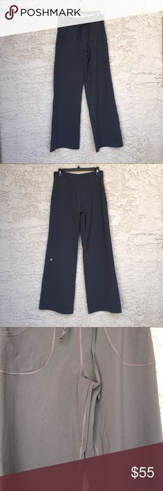 """Lululemon Athletica Yoga Pants Excellent used condition. No piling.  No rips.  No stains.  No trades.  Waist 31"""". Inseam 32"""".  Stretchy and comfortable. lululemon athletica Pants Track Pants & Joggers"""