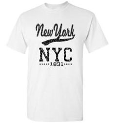 NYC New York unisex t shirt youth cool
