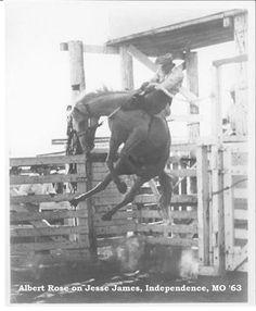 Jesse James was an unforgiving ride. :-)