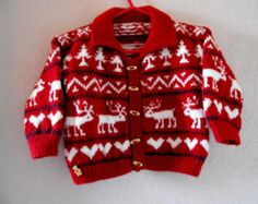Hand Knit Toddler Sweater, Hand Knit Jumpers, Toddler Sweater, Nordic Sweater, Pullover Sweater, Toddler Clothing