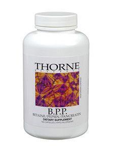 Thorne Research- B.P.P. 180 vegcaps