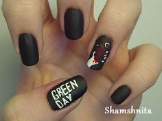 Green Day Nails Best nails ever!