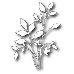 Memory Box Dies   Memory Box Die - Fresh Foliage Code: MBD-11510