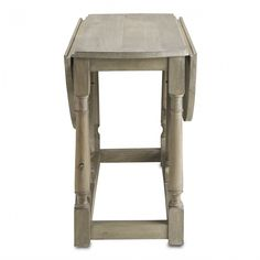 Currey and Company Garrison Drop Leaf Table | Furniture | Currey and Company | Brands | Candelabra, Inc.