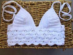 Patrones de top tejidos a crochet - Imagui