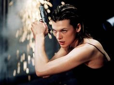 Who's genuinely from Ukraine, is in lots of movies with guns, sci-fi, and has the closest I'll ever humanly get to Ms.Jakob's boss face? Damn straight. #MillaJovovich